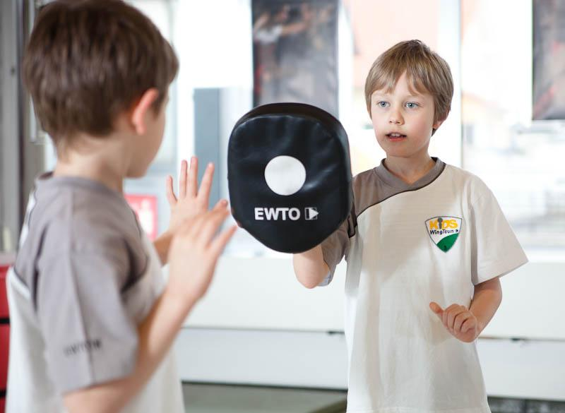 Kids WingTsun - Kids-WT - Pratzentrining