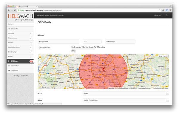 GeoPush